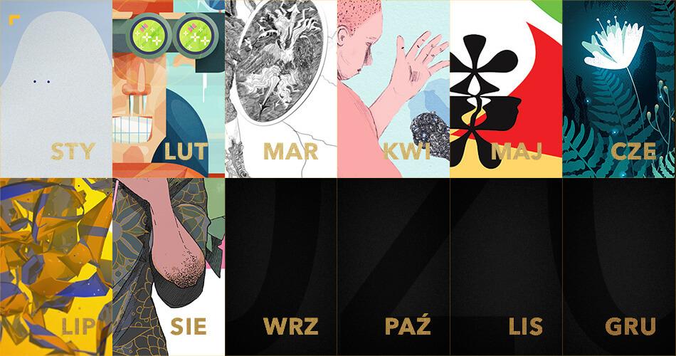 ZłotyKalendarz 2020: grafika na sierpień
