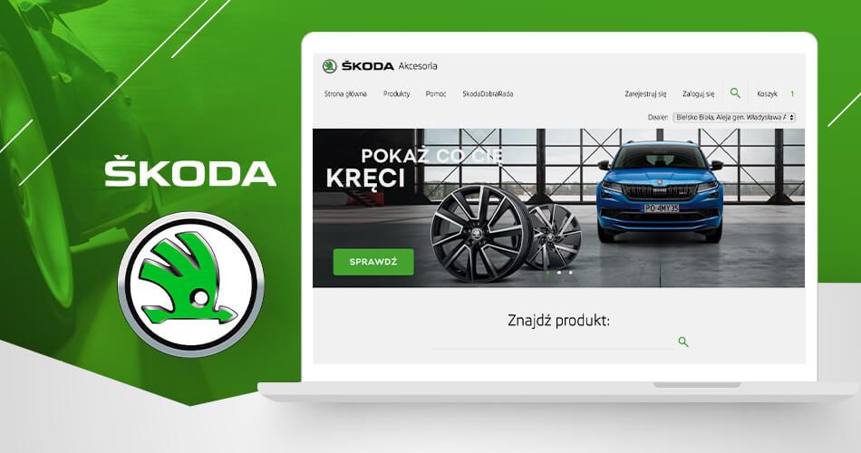 E-sklep dla marki ŠKODA