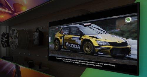 System wyświetlający reklamy na ekranach TV