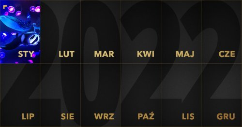 ZłotyKalendarz 2022: styczeń