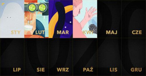 ZłotyKalendarz: grafika na kwiecień