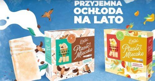 E.Wedel: kampania pianek Mango Shake i Caffe Frappe